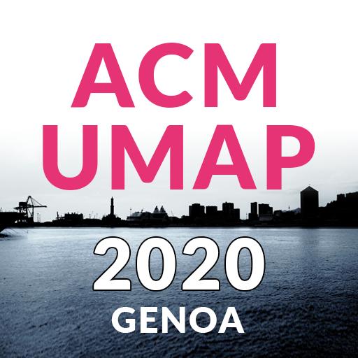 ACM UMAP 2020 Genoa
